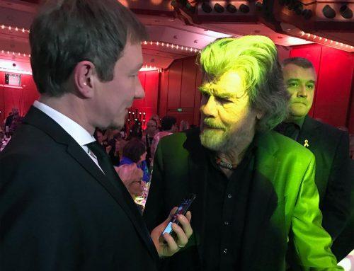 Reinhold Messner über das Manaslu Filmprojekt